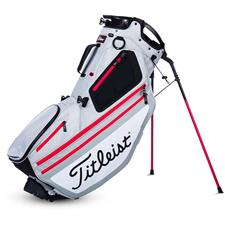 Titleist Hybrid 14 Stand Bag - Silver-White-Red