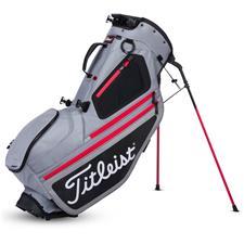 Titleist Hybrid 5 Stand Bag - Sleet-Black-Red