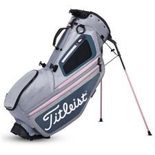 Titleist Hybrid 5 Stand Bag - Silver-Charcoal-Petal