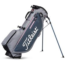 Titleist Players 4 Plus Stand Bag - Sleet-Charcoal-Petal