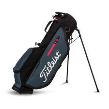 Titleist Players 4 Stand Bag - Black-Charcoal