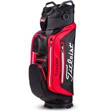 Titleist StaDry Deluxe Cart Bag - Black-Red-White