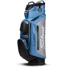 Titleist StaDry Deluxe Cart Bag - Bay-Silver-Black