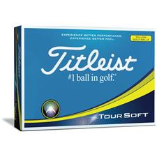 Titleist Prior Generation Tour Soft Yellow Personalized Golf Balls