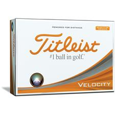 Titleist Velocity Double Digit Custom Express Logo Golf Balls