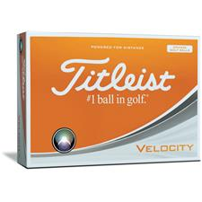 Titleist Velocity Orange Custom Logo Golf Balls