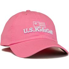 U.S. Kids Men's Twill Hat - Pink - Medium/Large (54 cm)