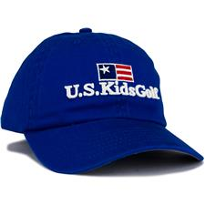 U.S. Kids Men's Twill Personalized Hat - Royal - Medium/Large (54 cm)