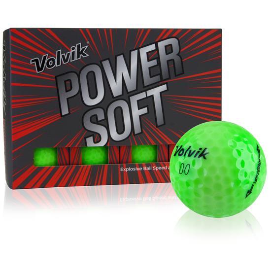Volvik Power Soft Green Golf Balls