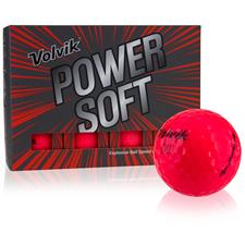 Volvik Power Soft Red Golf Balls