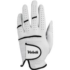 Volvik Tour 3.0 Golf Glove - White-Black - Small/Medium  - Left Hand