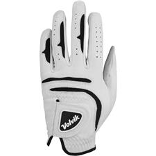 Volvik Tour Golf Glove - White/Black - Small/Medium - LH