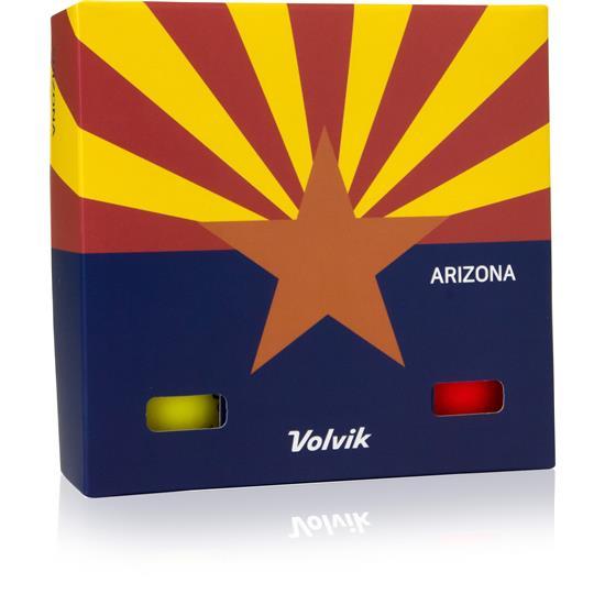 Volvik Vivid Golf Balls - Arizona 6-Ball Pack