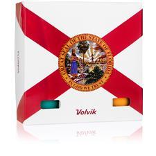 Volvik Vivid Golf Balls - Florida 6-Ball Pack