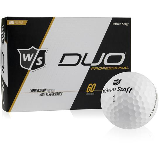Wilson Staff DUO Professional Golf Balls