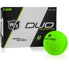 Wilson Staff DUO Professional Green Personalized Golf Ball
