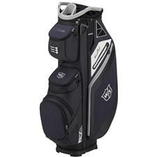 Wilson Staff EXO Personalized Cart Bag - Black-Gray