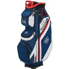 Wilson Staff EXO Cart Bag - Navy-White-Red
