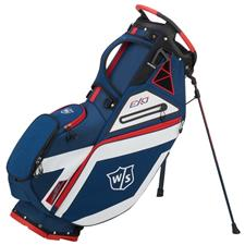 Wilson Staff EXO Stand Bag - Navy-White-Red