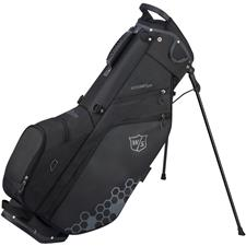 Wilson Staff Feather Stand Bag - Black-Gray