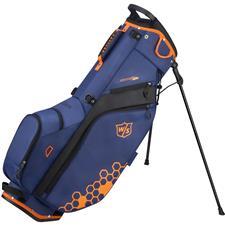 Wilson Staff Feather Stand Bag - Blue-Orange