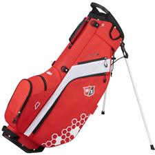 Wilson Staff Feather Stand Bag - Red-White