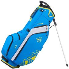 Wilson Staff Feather Stand Bag - Royal-Yellow