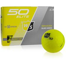 Wilson Staff Fifty Elite Yellow Golf Balls