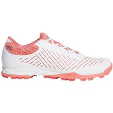 Adidas Cloud White-Red Zest-Active Pink Adipure Sport 2 Golf Shoes for Women