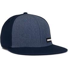 Adidas Men's Heathered Flat-Bill Hat - Collegiate Navy
