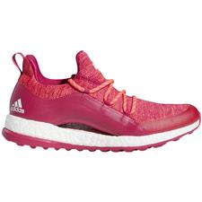Adidas Red Zest-Bold Pink-Cloud White Pureboost XG 2 Golf Shoes for Women