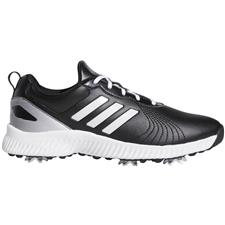 Adidas Core Black-Cloud White-Silver Metallic Response Bounce Golf Shoes for Women