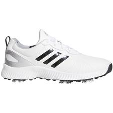 Adidas Cloud White-Core Black-Silver Metallic Response Bounce Golf Shoes for Women