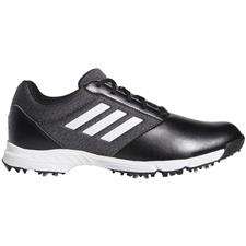 Adidas Core Black-Silver Metallic-Grey Tech Response Golf Shoes for Women
