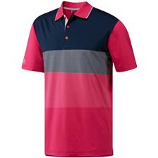 Adidas Real Magenta Ultimate365 ColorBlock Polo