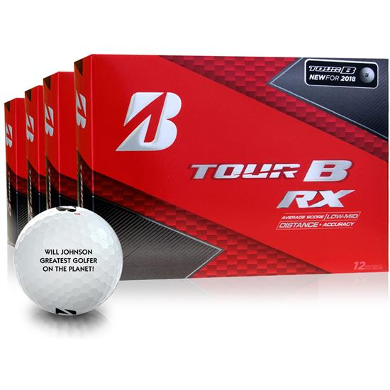 Bridgestone Tour B RX Golf Balls - Buy 3 DZ Get 1 DZ Free