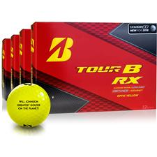 Bridgestone Tour B RX Yellow Golf Balls - Buy 3 Get 1 Free