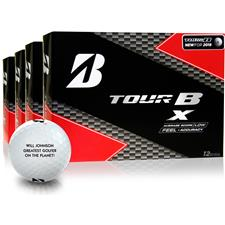 Bridgestone Tour B X Photo Golf Balls - Buy 3 DZ Get 1 DZ Free