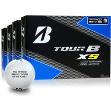 Bridgestone Tour B XS Photo Golf Balls - Buy 3 DZ Get 1 DZ Free
