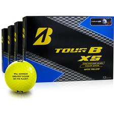 Bridgestone Tour B XS Yellow Golf Balls - Buy 3 Get 1 Free