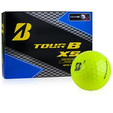 Bridgestone Tour B XS Yellow Personalized Golf Balls