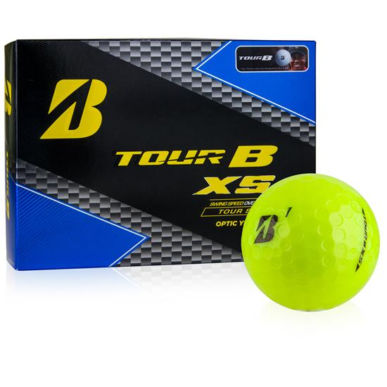 Bridgestone Prior Generation Tour B XS Yellow Golf Balls