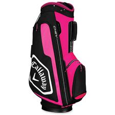 Callaway Golf Chev Personalized Cart Bag for Women - Pink-White-Black