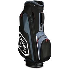 Callaway Golf Chev Cart Bag - Black-Titanium-White