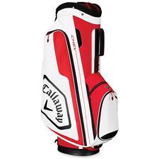 Callaway Golf Chev Cart Bag - Red-White-Black