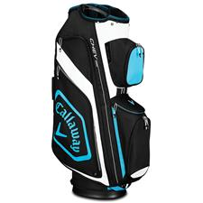 Callaway Golf Chev Org Personalized Cart Bag for Women - Black-Blue-White