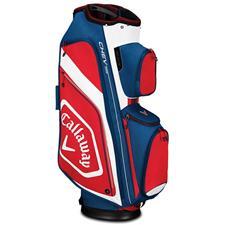 Callaway Golf Chev Org Cart Bag - Navy-White-Red