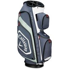 Callaway Golf Chev Org Cart Bag - Titanium-White-Silver