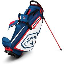 Callaway Golf Chev Stand Bag - Navy-White-Red