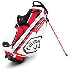 Callaway Golf Chev Personalized Stand Bag - Red-White-Black